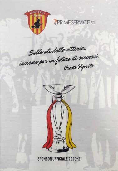 Sponsor Benevento calcio 2020-21